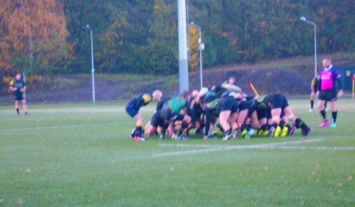 Śląskie rugby w natarciu
